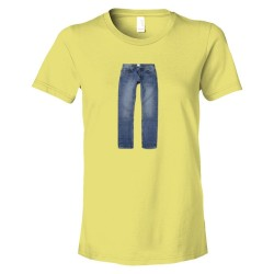 Womens Pants On A Tee Shirt 4Chan Idiots Delight - Tee Shirt