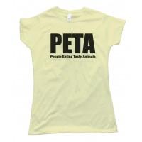 Womens Peta - People Eating Tasty Animals Tee Shirt