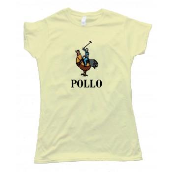 Womens Pollo - Full Chest Polo Rider - Tee Shirt