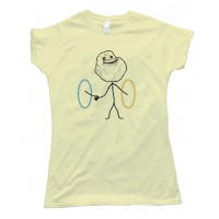 Womens Portal Forever Alone - Tee Shirt