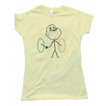 Womens Portal Forever Alone - Tee Shirt
