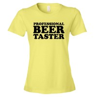 Womens Pro Beer Taster - Tee Shirt