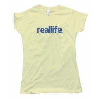 Womens Reallife Facebook Rip - Tee Shirt