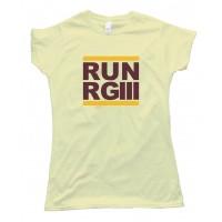 Womens Run Rg3 Robert Griffen Washington Redskins - Tee Shirt
