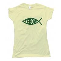 Womens Tebow Fish Ny Jets Tee Shirt
