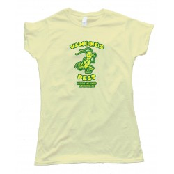 Womens Vamanos Pest Breaking Bad - Tee Shirt