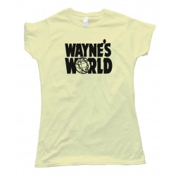 Womens Wayne'S World Show Logo - Tee Shirt