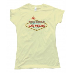 Womens Welcome To Las Vegas Sign - Tee Shirt