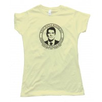 Womens What Would Ronnie Do - President Ronald Reagan - Tee Shirt