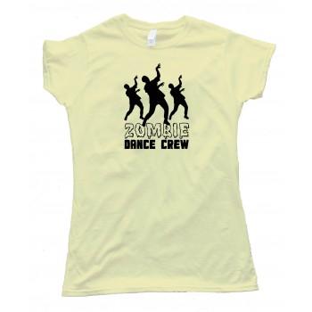 Womens Zombie Dance Crew - Tee Shirt