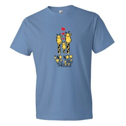 And Now We Are Three Giraffes Baby - Tee Shirt