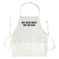 Apron My Kitchen My Rules