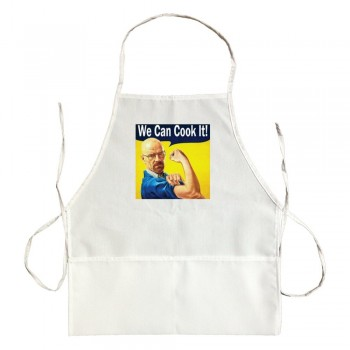Apron We Can Cook It Walter