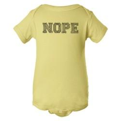 Baby Bodysuit Nope