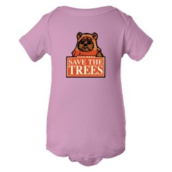 Baby Bodysuit Save The Trees Star Wars Ewok