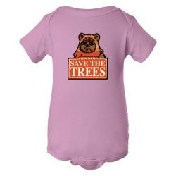 Baby Bodysuit Save The Trees Star Wars Ewok