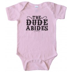 Baby Bodysuit - The Dude Abides Big Lebowski