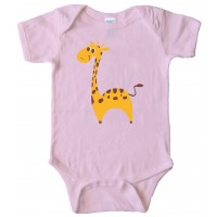 Baby Giraffe - Baby Bodysuit