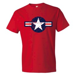 Classic American Military Star Air Force - Tee Shirt