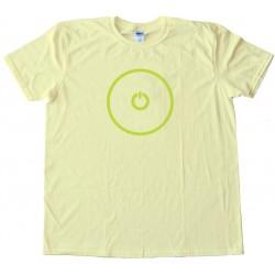 Gaming Power Button -Tee Shirt