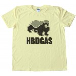 Hbdgas Honey Badger Don'T Give A S$&Amp;! Tee Shirt