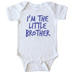 I'M The Little Brother - Baby Bodysuit