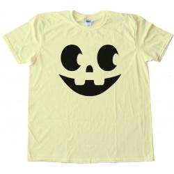 Jack O Lantern Halloween Pumpkin Face - Tee Shirt