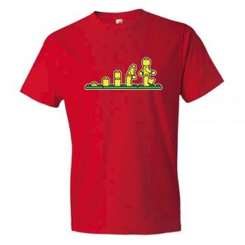 Lego Evolution Lego Man - Tee Shirt