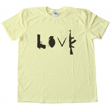 Love Guns Tee Shirt