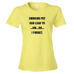 Womens Smoking Pot Can Lead To