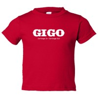 Toddler Sized Gigo Garbage In