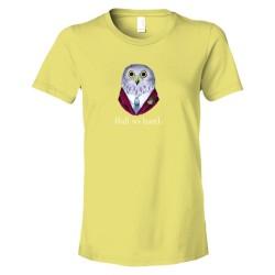 Womens Ball So Hard Owl 4Chan Delight - Tee Shirt