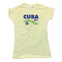 Womens Cuba La Habana Havana Country - Tee Shirt