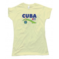 Womens Cuba La Habana Havana Country - Tee Shirt