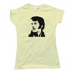Womens Elvis Presley Sideview - Tee Shirt