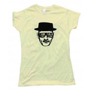 Womens I Am The Danger Heisenberg - Tee Shirt