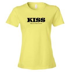 Womens Kiss Keep It Simple Sister - Tee Shirt