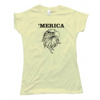 Womens 'Merica - American - Tee Shirt