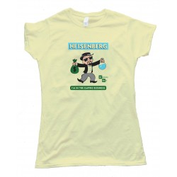 Womens Monopoly Heisenberg Breaking Bad - Tee Shirt