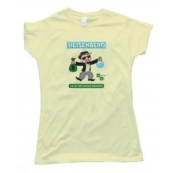 Womens Monopoly Heisenberg Breaking Bad - Tee Shirt