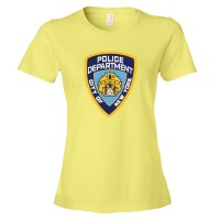 Womens Nypd New York Police Department Logo - Tee Shirt
