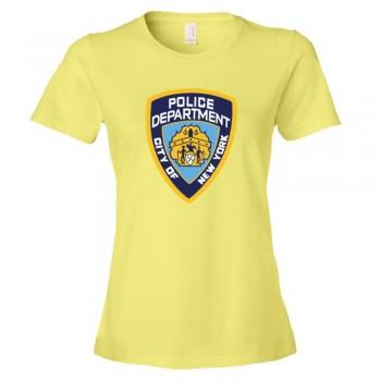 Womens Nypd New York Police Department Logo - Tee Shirt