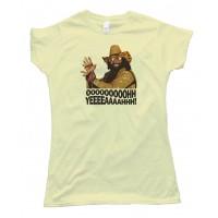 Womens Ooohh Yeeaah Macho Man Randy Savage -Tee Shirt