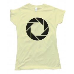 Womens Portal Aperture Science Tee Shirt