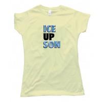 Womens Steve Smith Ice Up Son - Tee Shirt