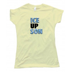 Womens Steve Smith Ice Up Son - Tee Shirt