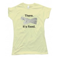 Womens There. It'S Fixed - Duct Tape -Tee Shirt
