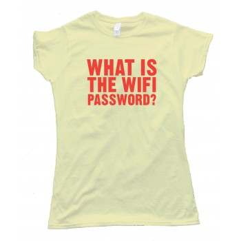 Womens What Is The Wifi Password? - Tee Shirt