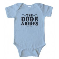 The Dude Abides Big Lebowski Baby Bodysuit