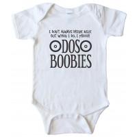 Dos Boobies - Baby Bodysuit